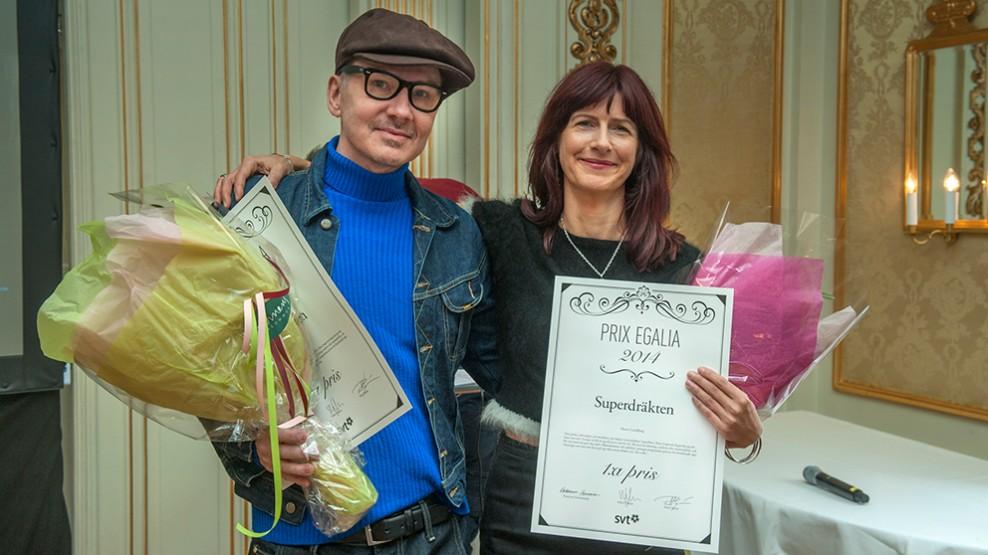 Superdräkten vann Prix Egalia!